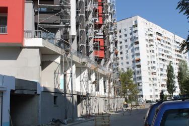 Фасадно Рамково Скеле съчетано с Allround, София