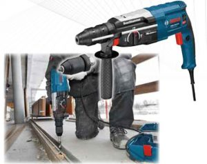 Бормашина, ударно-пробивна, 3 кг, BOSCH GBH 2-28 DFV, SDS PLUS