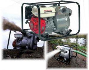 Бензинови помпи за отпадни води 2'' 700 l/min