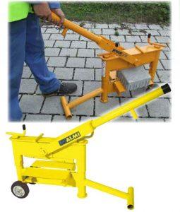 Ръчна гилотина за бетонови блокчета (павета ) AL 33 D