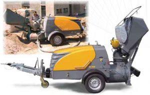 Машини за транспортиране на замазки PUTZMAI STER M 740 D / M 760 DHB