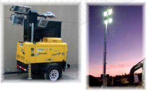 Осветителни кули LIGHT TOWER VT1