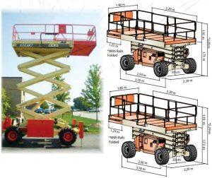 Самоходна вишка JLG 40 RTS – 14m (дизелови)