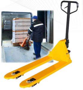 Палетна количка 2500 кг / Transpalet manual 2500 kg