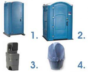 Специализирани химически тоалетни, мобилни мивки, писоари