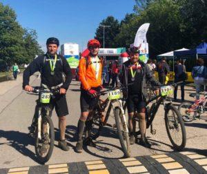 100 километра в планината - екипът на Stroyrent