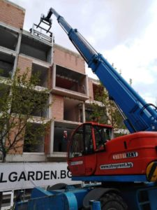 Строеж на жилищна сграда