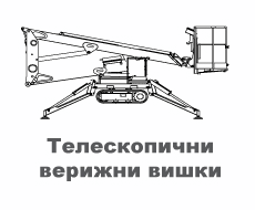 Телескопични верижни вишки